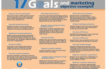 Marketing strategy in social media: solution of 17 goals