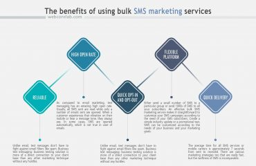 Popular strategy for web marketing companies: SMS services