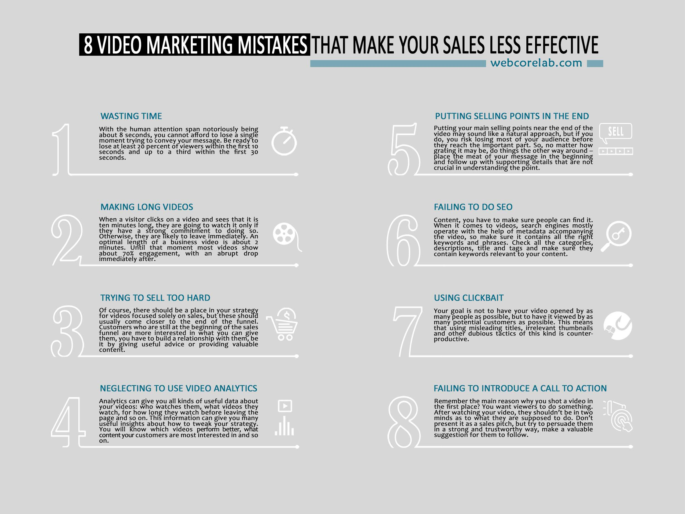 8 Ways to avoid common YouTube video marketing mistakes