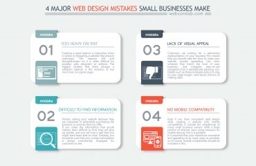 4 major web design mistakes small businesses make